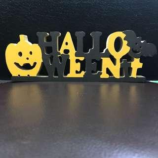 🚚 萬聖節Halloween造型裝飾。密集版/密底版 長21.9x寬7.1x厚1.8公分