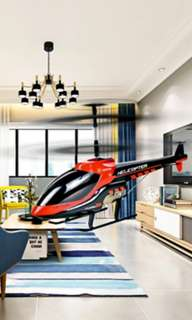 Indoor helicopter (may promo)