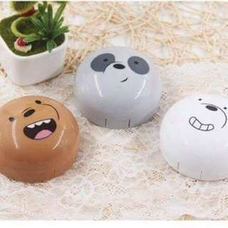 We Bare Bears Contact Lens Travel Case