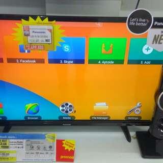 "Panasonic LED TV 32"" Cicilan Tanpa CC Proses 3menit Cair Free 1x Angsuran"