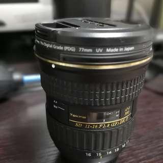 Tokina AT-X 116 PRO DX AF 11-16mm f/2.8