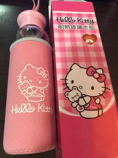 (含運)Hello Kitty耐熱玻璃水壺500ml