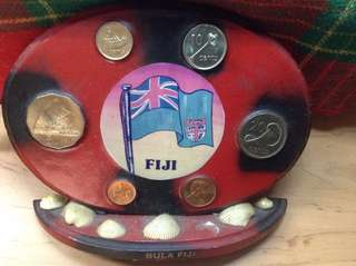 Authentic Souvenir Display from FIJI