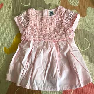 Baby Girl Dress Pink Lace