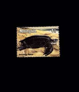 Malaysia 1979 National Animals Series 1V Used (0389)