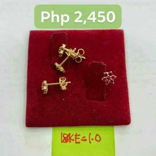 Authentic  Stud Earring