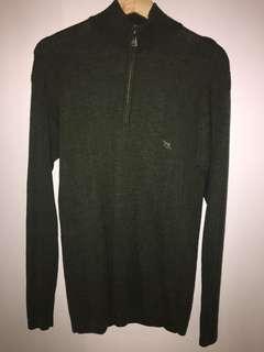 Rodd & Gunn zip-up sweater size S