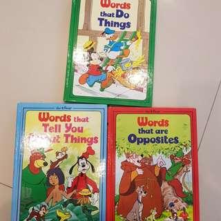Walt Disney WORDS book