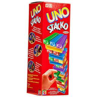 Uno stacko. Used once. Good as new