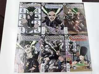 Cyberella (1996) Complete Comics Set
