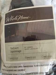 Bedskirt (Queen) - Brand New
