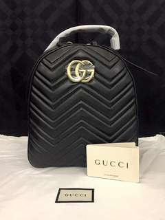 Gucci Quilted Bagpack