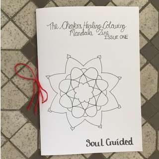 The Chakra Healing Colouring Mandala Zine