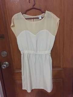 H&M peach summer dress