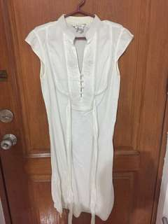 Zara linen summer dress