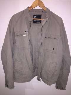 Men's Off Khaki Baus Haus jacket size XL