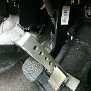 Pedal Lock Besi Padu Anti Theft Kunci Kereta