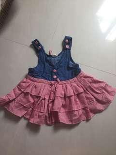 Preloved girl dress (size 100)