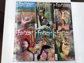 Faultlines (1997) Comics Set