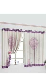 Cute cat curtain. w 300x L 170cm