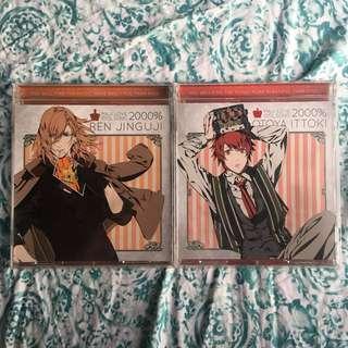 Uta no prince sama Ren Jinguji and Otoya Ittoki album