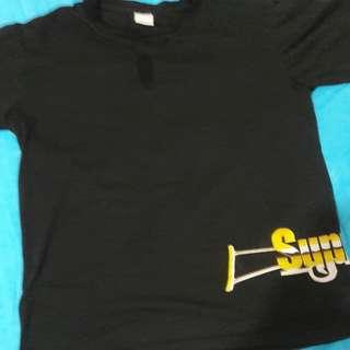 Supreme shirt Gold logo