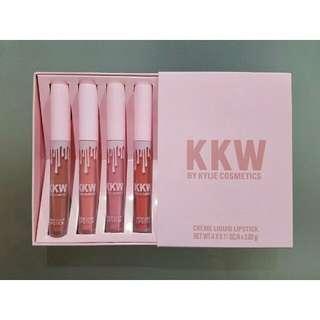 Lipstick kylie kkw (4pcs)
