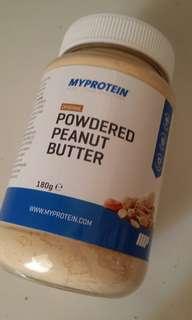 花生醬粉180g Powdered Peanut Butter MyProtein健身gym