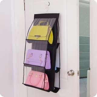 6 Slot Hang Bag Storage RollShirt Shoes and ETC Convenient