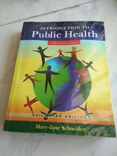 Introduction to public health by mary jane schneider
