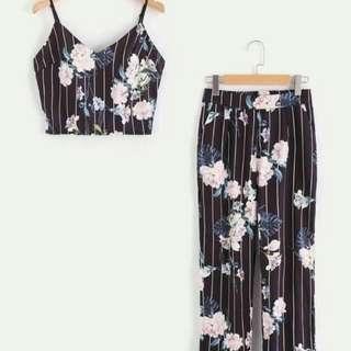 Terno Black Floral