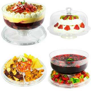 3 in 1 multi function cake stand