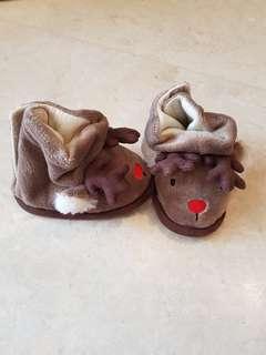 Raindeer soft boot for newborn