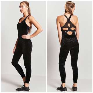 Active Velvet Jumpsuit