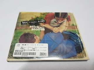 NEW FOUND GLORY - STICKS AND STONES (CD)