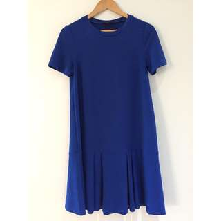 Asos Royal Blue Maternity Swing Dress