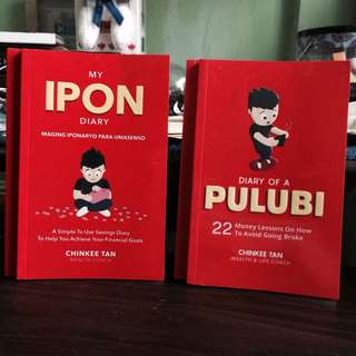 My Ipon Diary & Pulubi Diary (Signed Chinkee Tan Books)