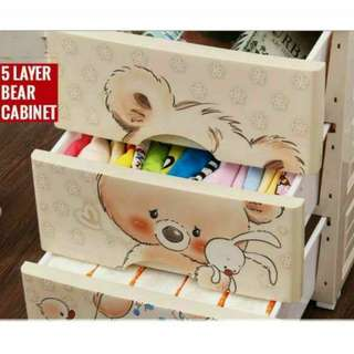 5 layer bear cabinet