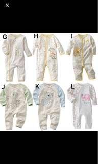 Baby pyjamas Long sleeve rompers