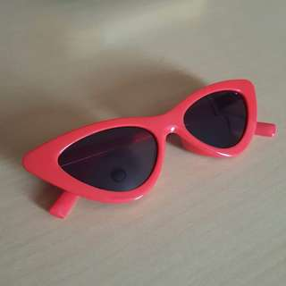 Red Cateye Sunglasses
