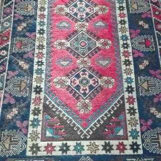 "** Genuine ""Wool on Wool"" Turkish Rug **"