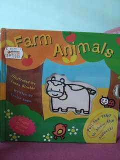Magic colour book (farm animals)