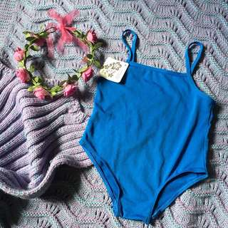 Blue kids onepiece swimsuit ( 5T)