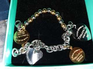 Tiffany Stainless Steel Non tarnish Bracelets