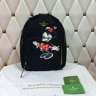 Kate Spade Backpack MinnieMouse Blk