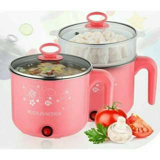 2 Layer traveling stainless steel 1.6L multifuntion cooker