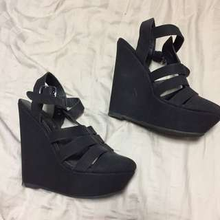 Black Heels Size 8