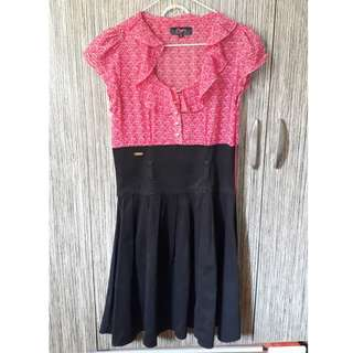 Authentic Candy Formal Dress (pink and black)