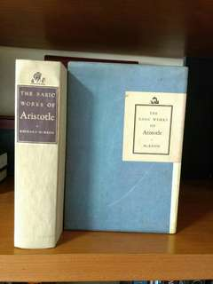 The Basic Works of Aristotle by  Richard McKeon   published by Random House (1941)