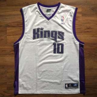 Reebok Athletics NBA Replica Sacramento Kings Mike Bibby #10 Home Jersey